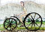 world`s first bicycle